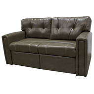 "65"" Olive RV Tri-Fold Sleeper Sofa"