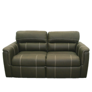 "70"" Chocolate Tri-Fold Sleeper Sofa"
