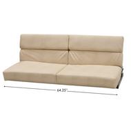 "RV Flip Sofa 64.25"" - Tan"