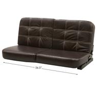 """Flip Sofa 56"""" - Brown"""