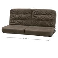 "RV Flip Sofa 56"" - Grey/Taupe"
