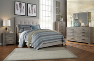 Contemporary Queen Upholstered Bed