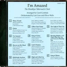 I'm Amazed (Split Track CD)
