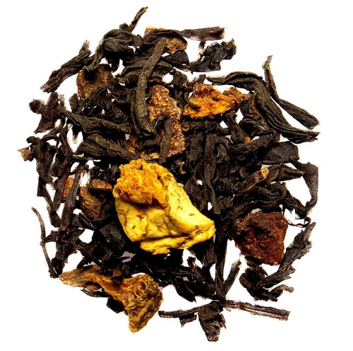 Orange cinnamon spice loose leaf tea