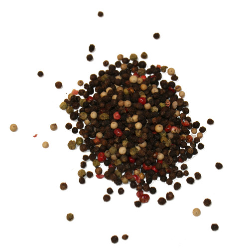Whole tri-color peppercorn