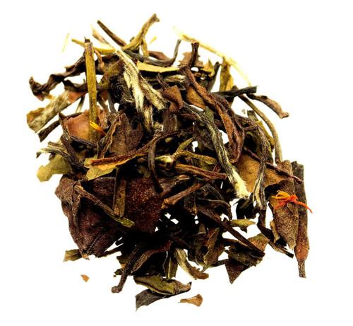 white pomegranate loose leaf tea