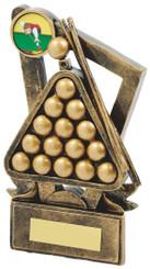 "Gold Resin Pool Award - TW18-078-RS604 - 11cm (4 1/4"")"