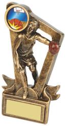 "Gold Resin Basketball Award - TW18-082-RS619 - 9cm (3 3/4"")"