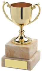 """Gold Cast Cup - 12.5cm (5"""")"""