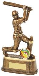 """Gold Cricket Batsman Trophy - TW18-067-RS708 - 20cm (8"""")"""