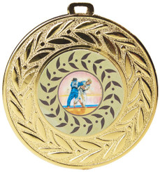 """90mm """"Wreath"""" Sports Medals - TW18-124-MD061S"""