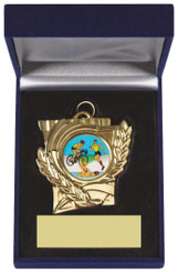Heavy Quality Medal in Blue Presentation Case - TW18-127-192A