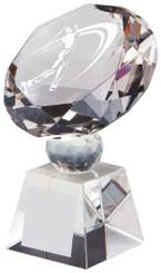 """Crystal Diamond Award for Men's Golf - TW18-162-T.0378 - 10cm (4"""")"""