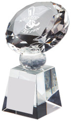 """Crystal Diamond Golf Award for Nearest the Pin - TW18-162-T.0384 - 10cm (4"""")"""