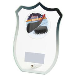Jade Glass Shield Multi Sport Award - 18cm - 616ZAP