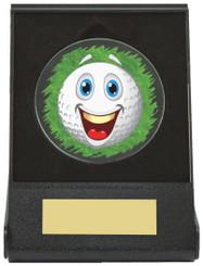 Black Case Golf Collectable - Happy - TW18-168-666ZAP - Dia 60mm