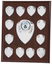 "Economy Annual Record Shield Award - TW18-120-166B - 23cm (9"")"