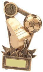 """Referee's Whistle Award for Football - 15cm (6"""") - TW18-029-RS583"""