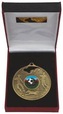 70mm Men's Football Medal in Case - TW18-036-031C