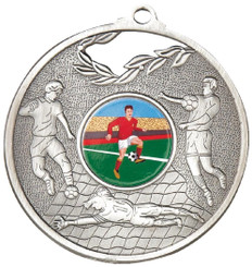 70mm Men's Football Medal - TW18-036-MD824S