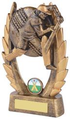 "Gold Cricket Batsman Award - TW18-068-RS327 - 16cm (6 1/4"")"