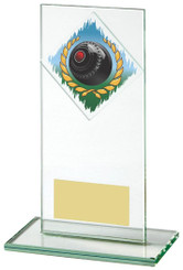 "Jade Glass Bowls Award - TW18-089-418ZCP - 16cm (6 1/4"")"