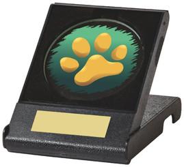 Glass Disc Award in Presentation Case - TW18-095-444ZCP - Dia 50mm