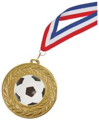 90mm Gold Football Medal - TW18-034-678AP