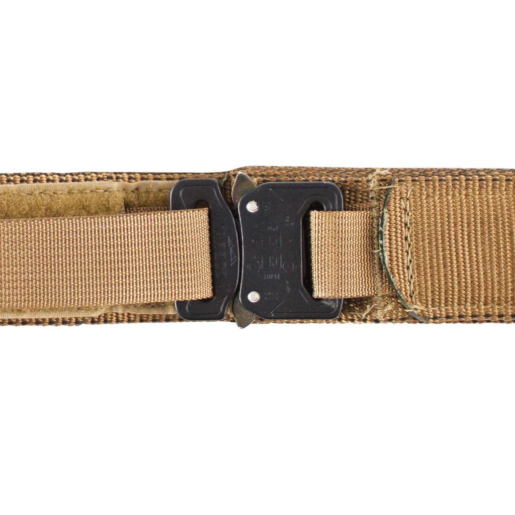 Covert Belt - Coyote Buckle Detail