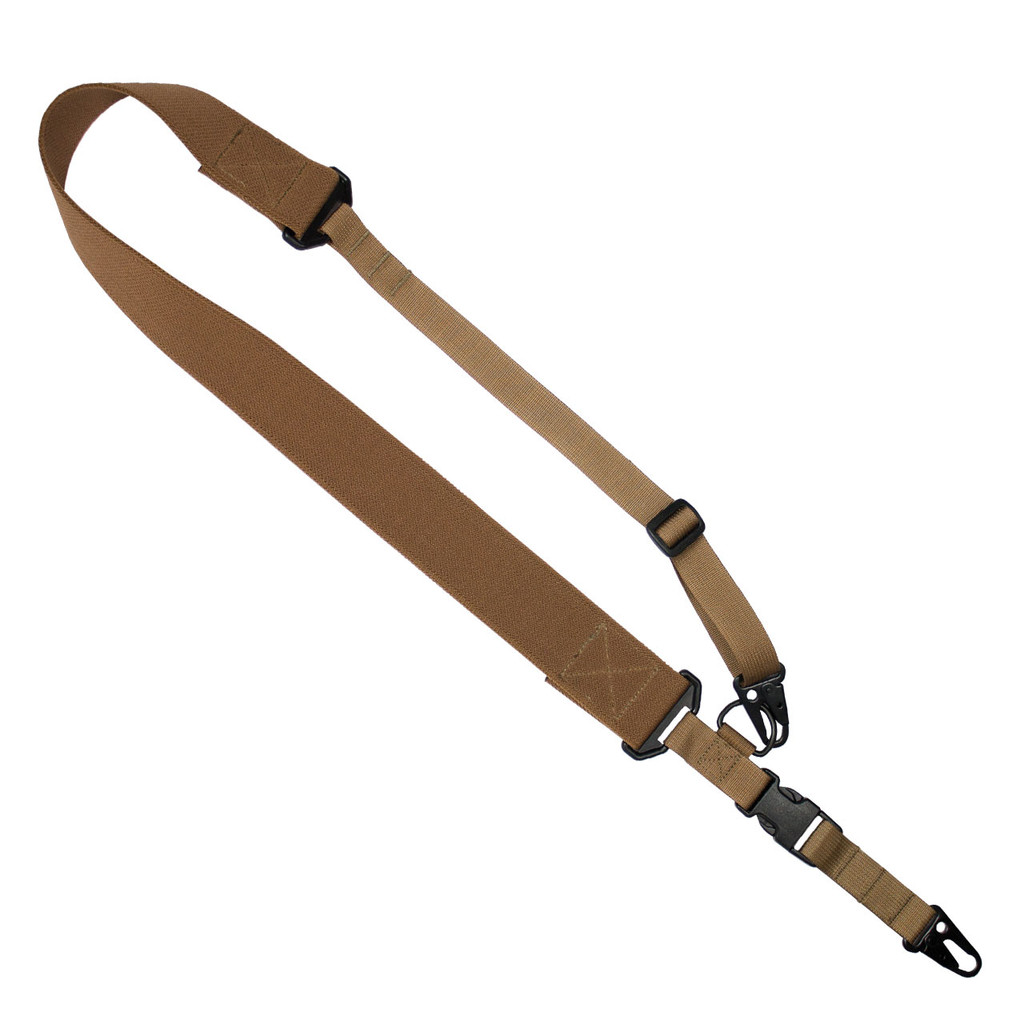 C2: 2-to-1 Point Tactical Sling - Coyote -1-Point- QH