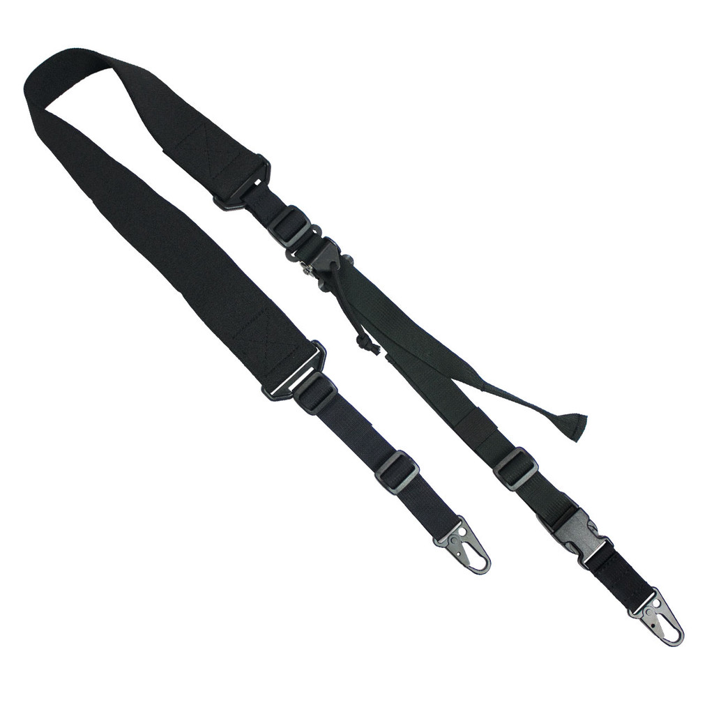 D1: 2-to-1 Point Rapid Fit Sling - Black