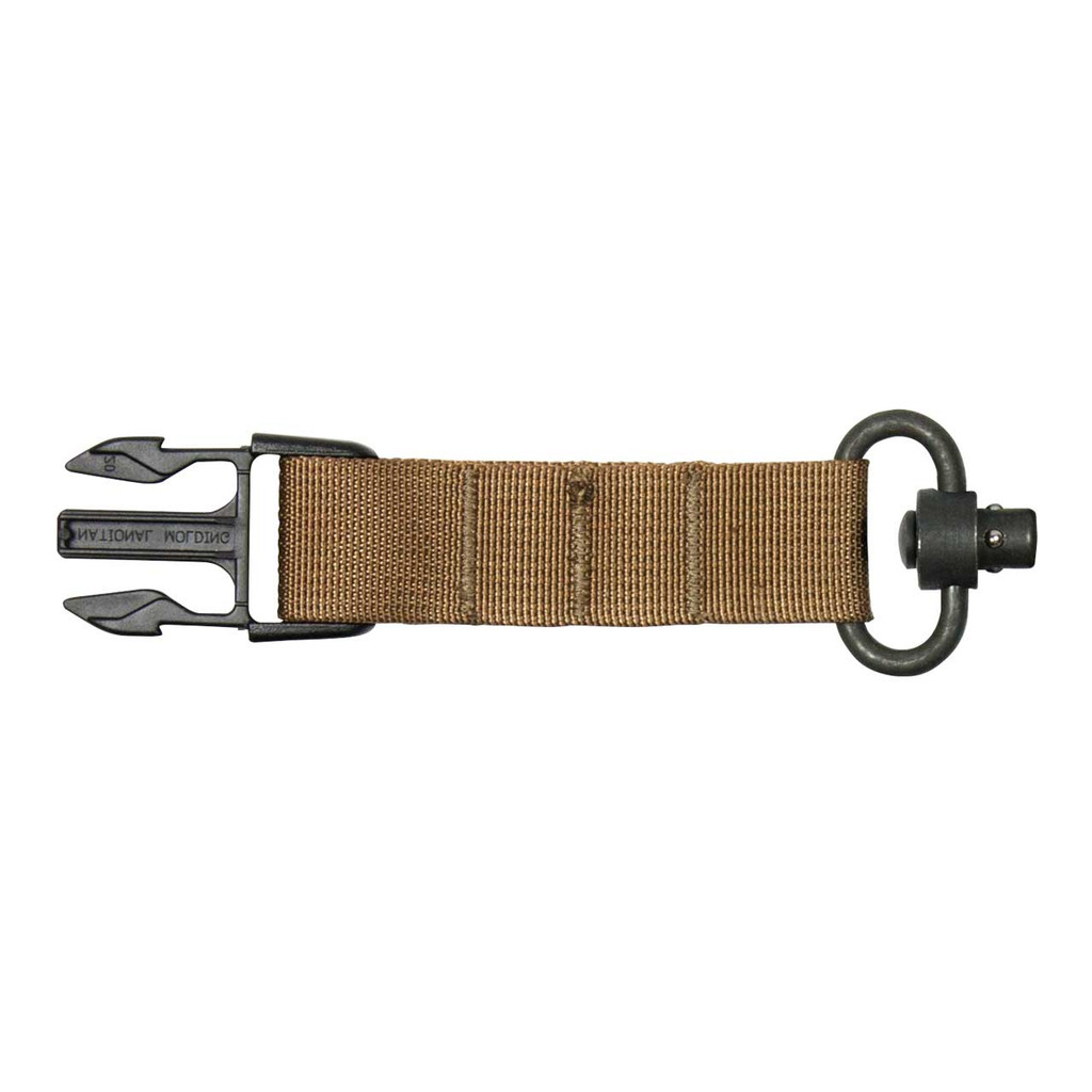 Sling Adapter - Push-button QD- Coyote