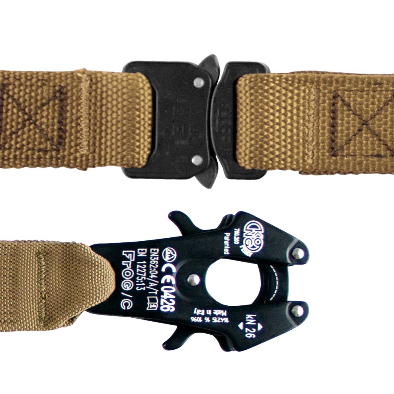 COBRA Buckle & Frog Clamp