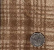 "Maywood Studios ""Woolies Flannel"" Large Plaid Brown"