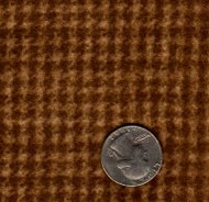 "Maywood Studios ""Woolies Flannel"" Houndstooth Medium Brown"