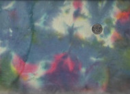 "108"" Wide Pink, Blue, Yellow, Cream, Purple Tie Dye"