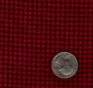 "Maywood Studios ""Woolies Flannel"" Mini Hounds Tooth Cranberry"