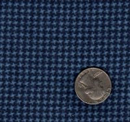 "Maywood Studios ""Woolies Flannel"" Mini Hounds Tooth Blue"