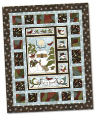 "Maywood Studios ""Winter Folk Fun"" Quilt Kit"