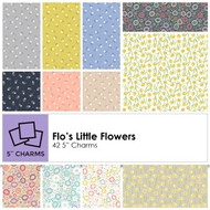 "Lewis & Irene ""Flo's Little Flowers"" Charm Pack"