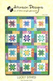 "Atkinson Designs ""Lucky Stars"" Quilt Pattern"