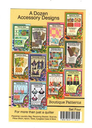 "Villa Rosa ""A Dozen Rosecards"" - Patterns for Accessories"