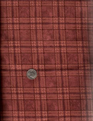 "Henry Glass ""Folk Art Flannels"" Brown Plaid"
