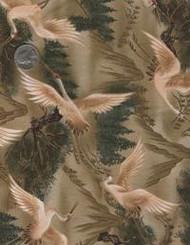 """Kona Bay Fabrics """"Cranes"""""""