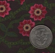 Fabric Traditions Green & Pink Floral