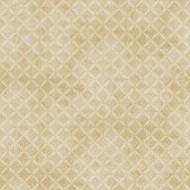 "Fresh Water Designs ""A Quilter's Garden"" Tan Diamond"