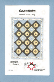 """Snowflake"" Quilt Pattern"