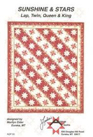 """""""Sunshine & Stars"""" Quilt Pattern"""