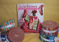 """Strip Frenzy"" Quilt Book"