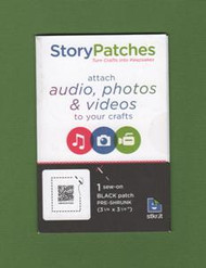 "Audio, Photo or Video ""Sew-On"" Story Patch"